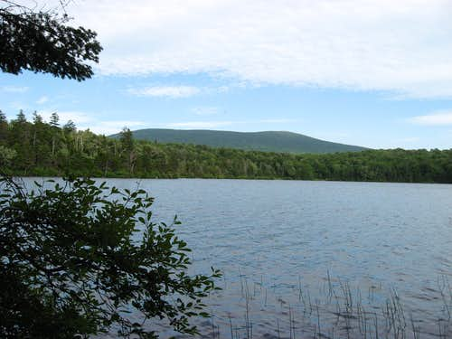 Stratton Mountain and Stratton Pond