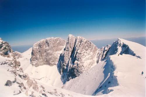 Stefani (2909m), Mytikas...