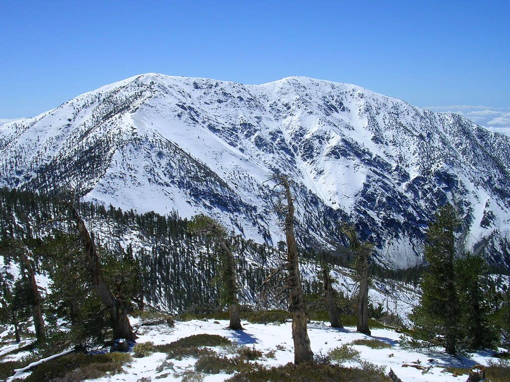 Baldy's North Face 9-23-07