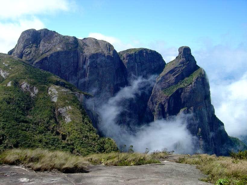 Magnificent scene on <b>Travessia trail</b>