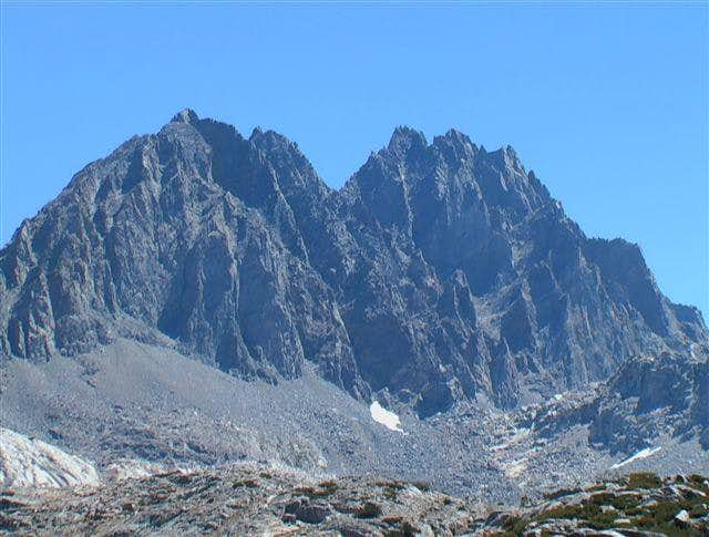 Thunderbolt Peak ( left ) and...
