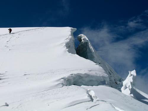 on Tarija's glacier, 09/08/2007