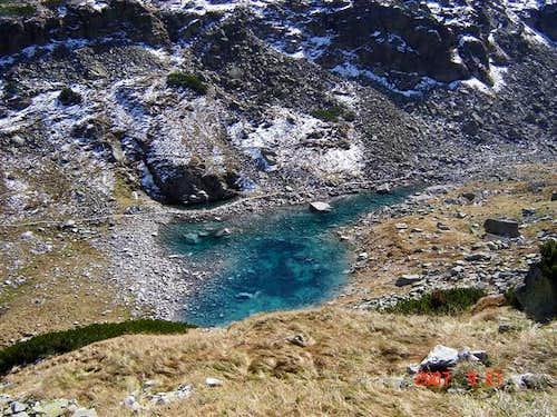 small lake on the way from Szpiglasowa Pass,High Tatra