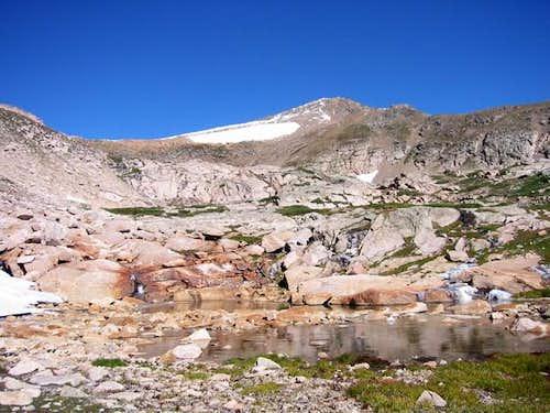 Jasper Peak above small...