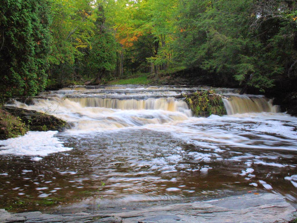 Unnamed Falls on the Falls River