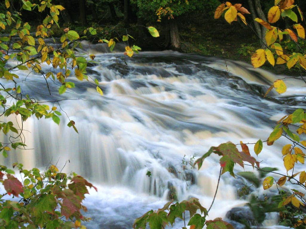 Lower Falls on the Falls River
