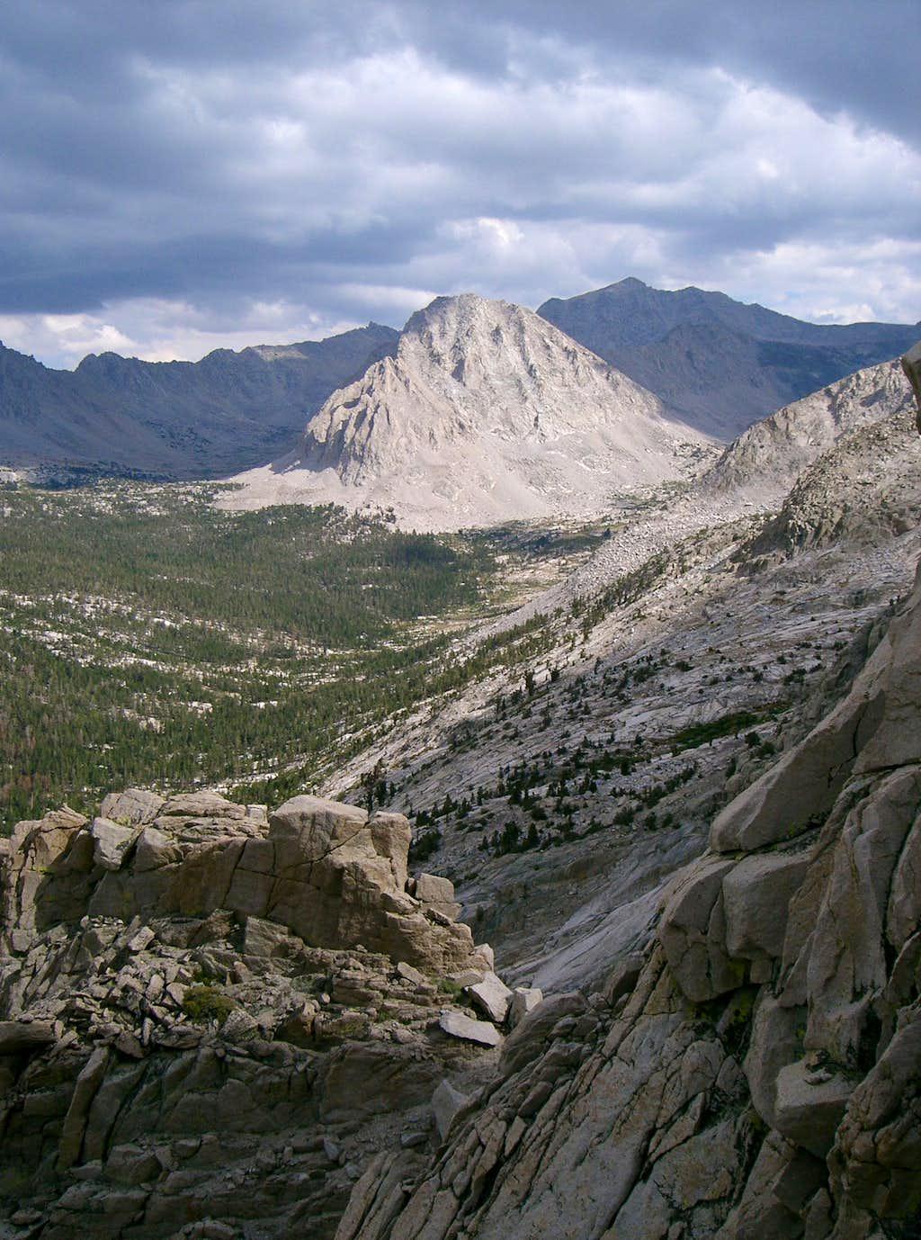 Threatening Clouds over High Sierra