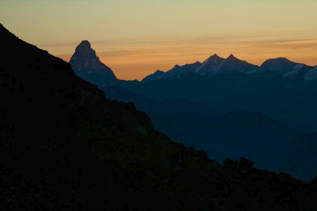 Matterhorn shape