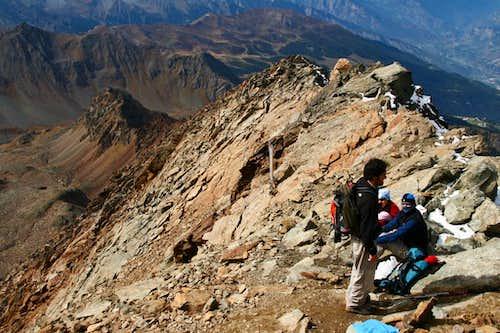 Monte Emilius summit