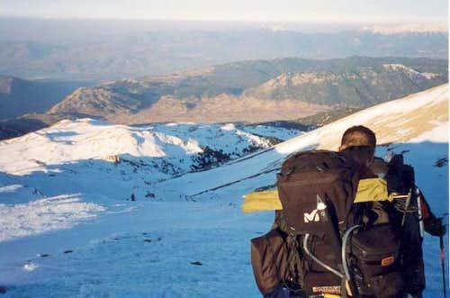 Livadi plateau, Itea bay and...