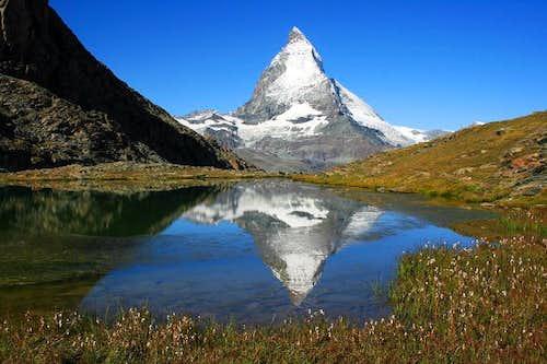 Matterhorn from Riffelsee