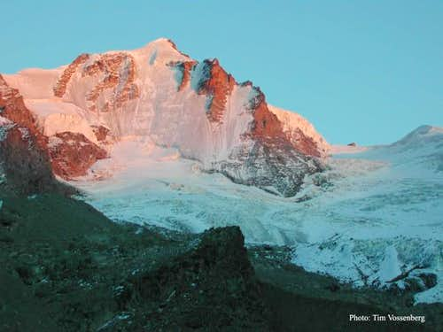 Gran Paradiso sunset. The...
