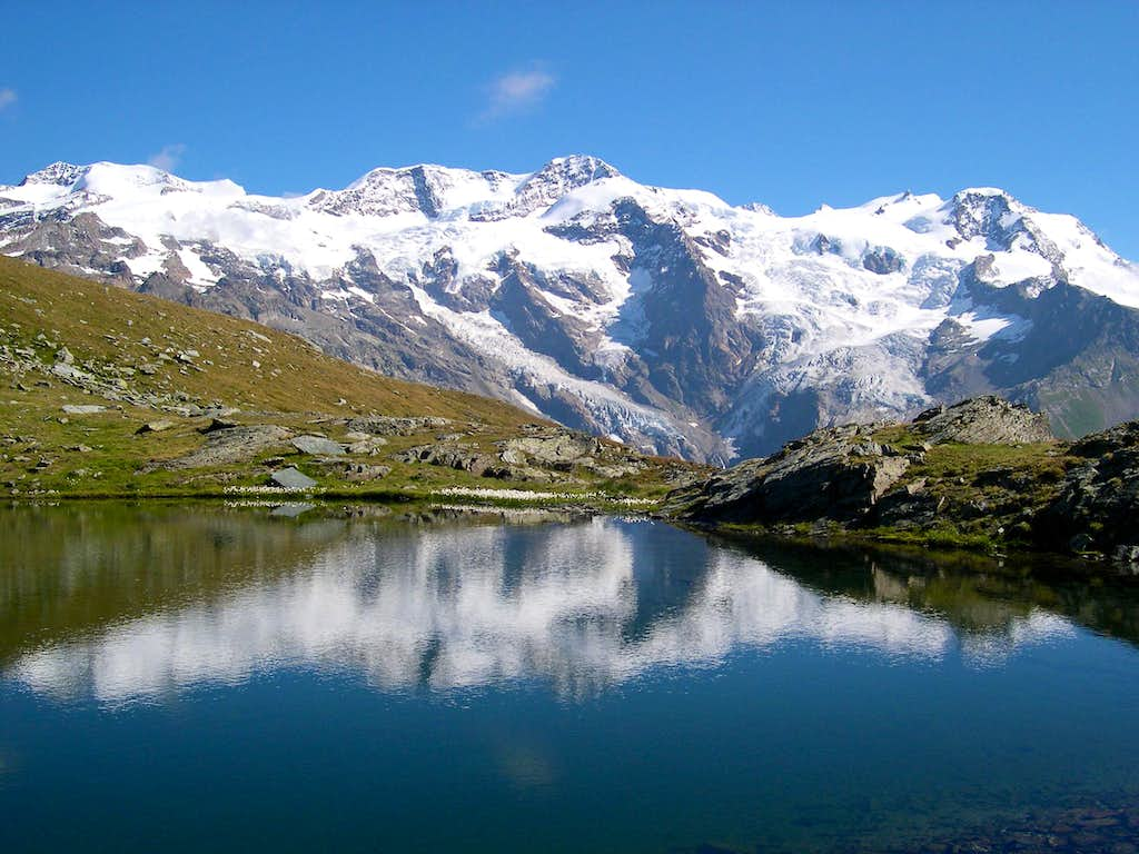 Monte Rosa - south flank