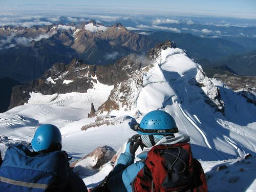 High on Mount Baker