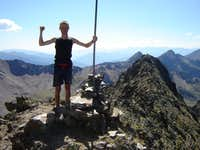 Summit of Pic de Medecourbe