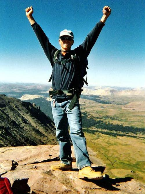 Highest Land Point Vanman798 Has Been To :: King\'s Peak