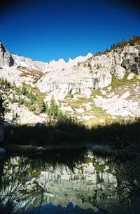 Whitney from lower Boyscout Lake