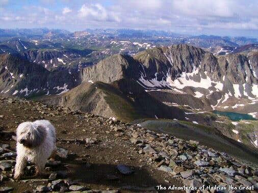 On Handies Peak
