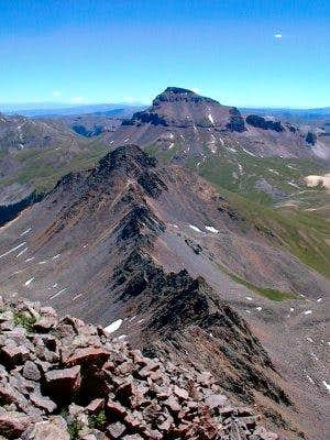 This is a view of Uncompahgre...