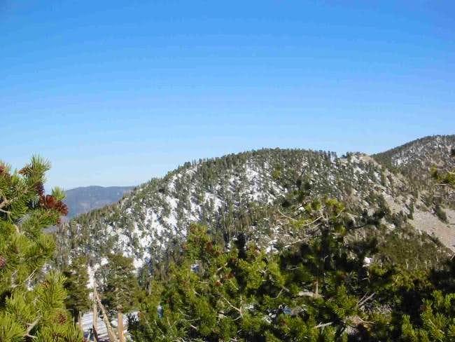 San Bernardino East Peak as...