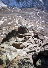 Sonklarspitze SW ridge