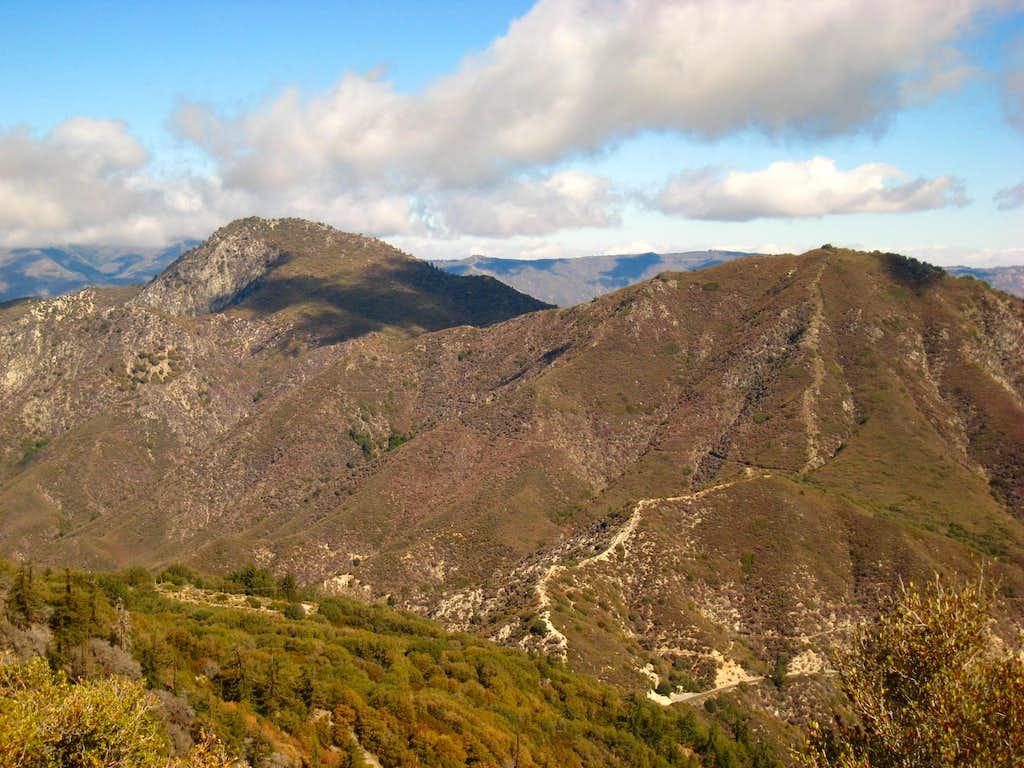 Strawberry Peak and Mt. Lawlor