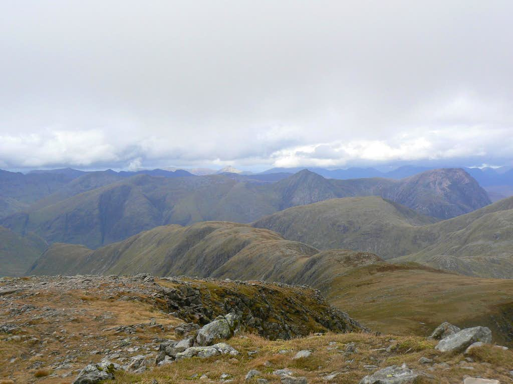 The Blackmount, Glencoe and Mamore peaks