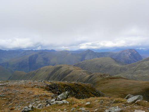 The Blackmount, Glencoe and Mamore peaks