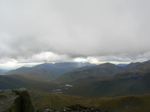 The peaks of Glen Etive