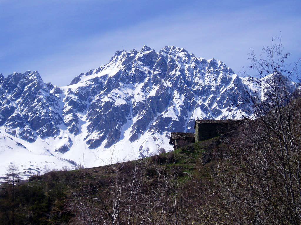 Est side of mont Velan