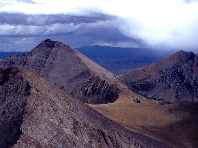 Humboldt Peak from the east...