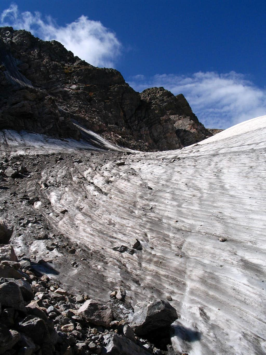 Andrews Glacier in Late Summer Condition