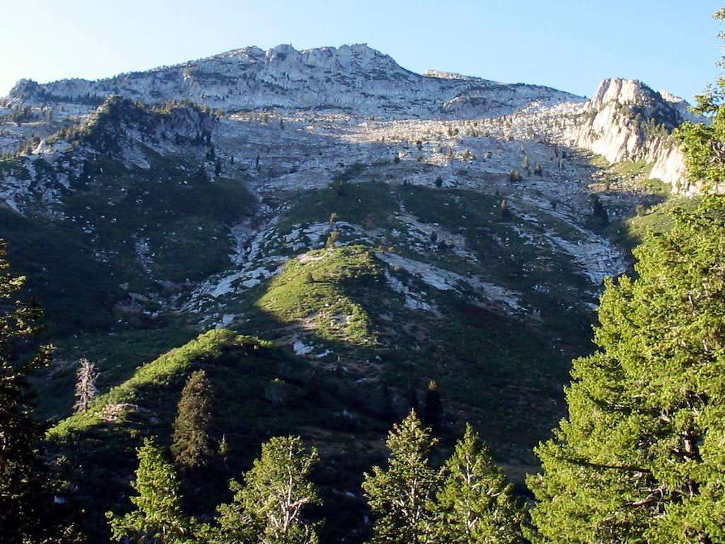 Lone Peaks West Peak