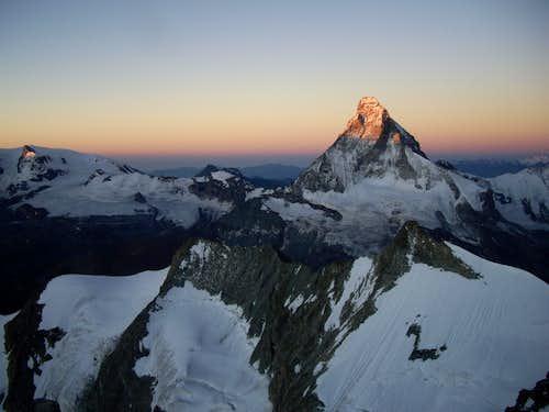 Sunrise on Matterhorn