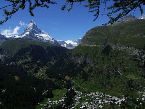 Zermatt with Matterhorn