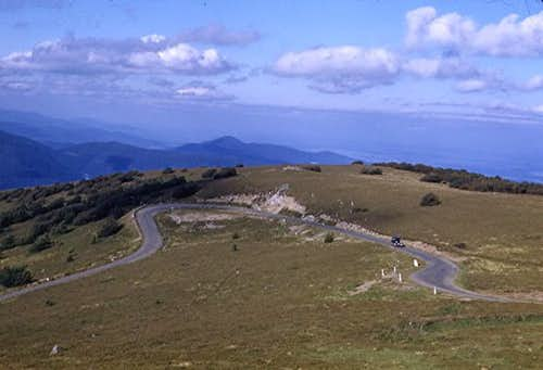 Road up the Grand Ballon...