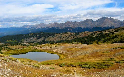 Ice Mountain from Cottonwood Pass