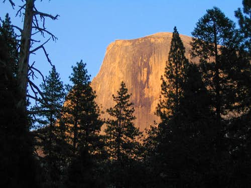 Half Dome from Valley