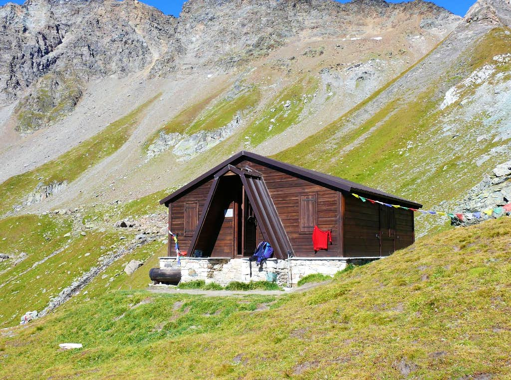 Bivacco Rosazza-Savoie (2651m)