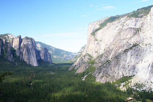 Cathedral Spires and El Capitan