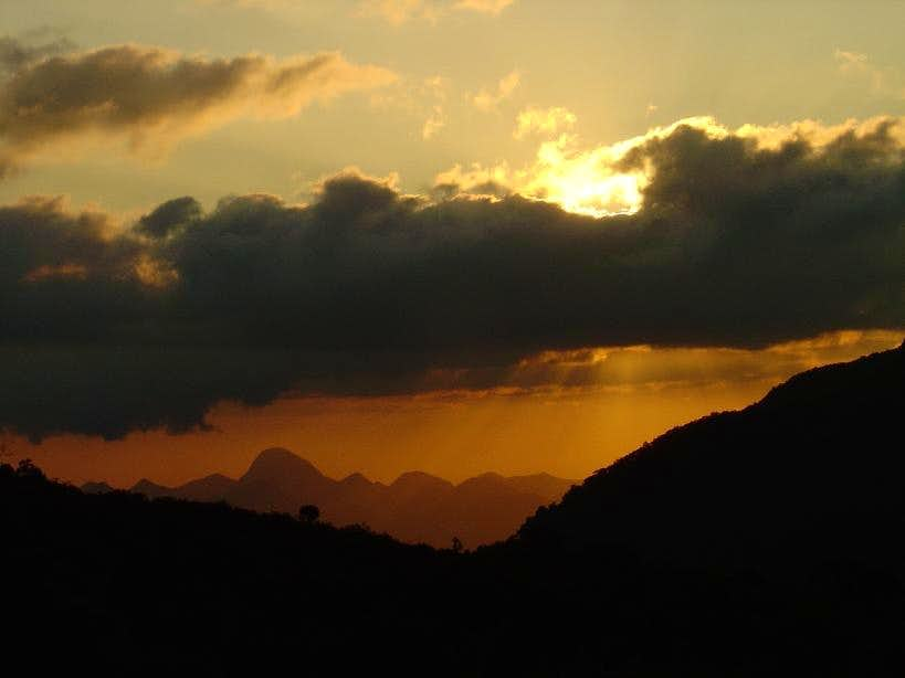 Sunset at Vale dos Deuses