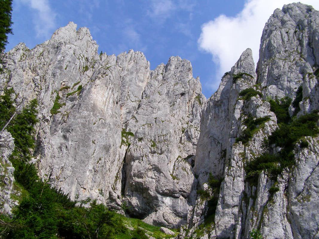 Piatra Craiului Mountains Piatra Craiului