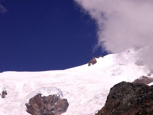 The glacier Lys at ...