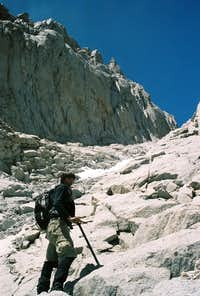 Mountaineers Route Gully