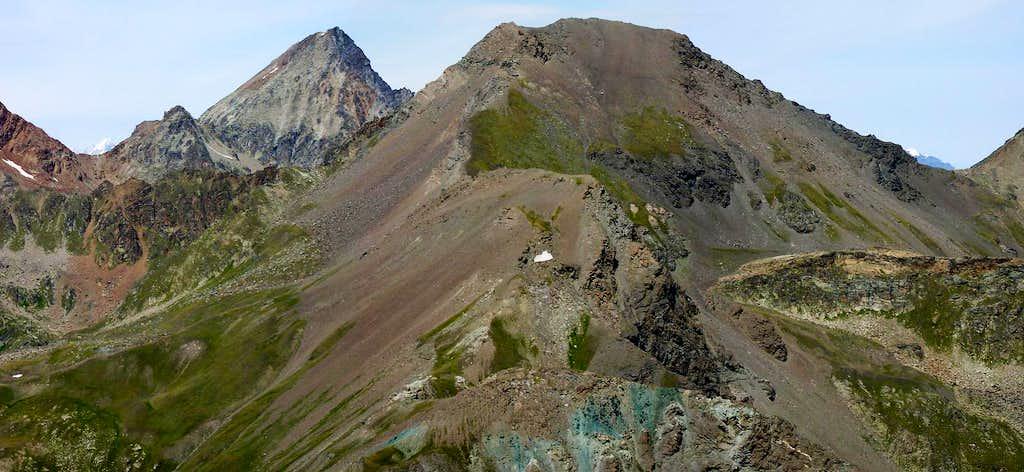 S-SE ridge of Punta di Leppe
