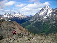 Summit view towards Stuart