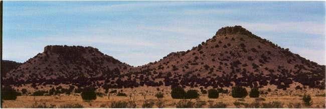 Mesas along the Black Mesa...