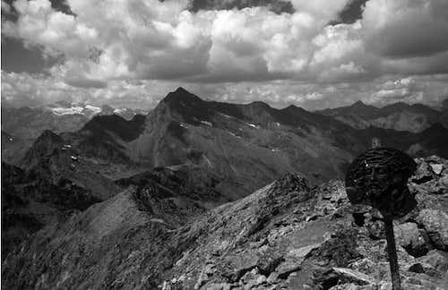 Mont Glacier summit