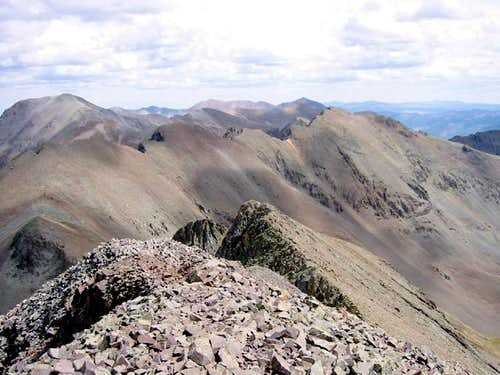 American Peak from Jones...