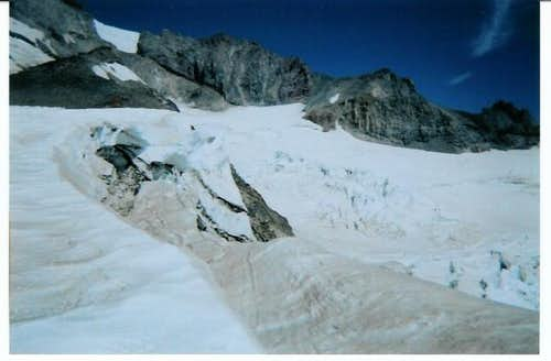 The Cowlitz Glacier from Muir...